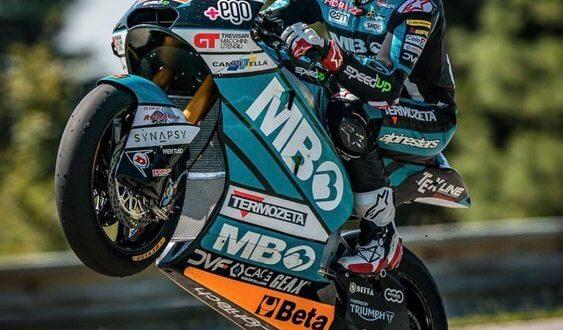 Moto2 (GP de Brno): comparación Di Giannantonio vs Gardner