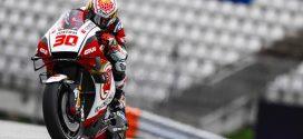 MotoGP (GP de Styria) comparación Nakagami v Viñales
