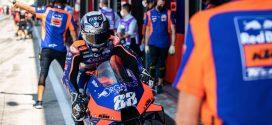 MotoGP (GP de San Marino) comparación Oliveira v Binder