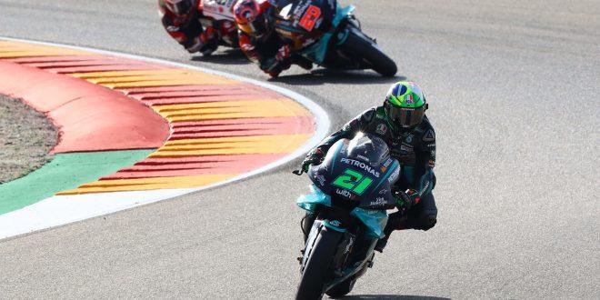 MotoGP (GP de Teruel): Franco Morbidelli vs Fabio Quartararo