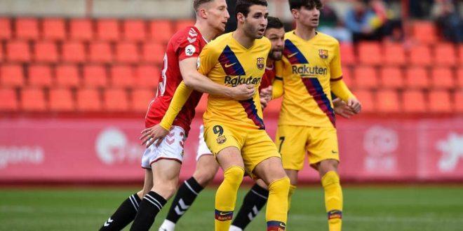Segunda B (Grupo 3): FC Barcelona B – Nástic de Tarragona