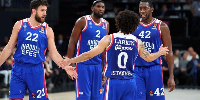 Euroliga: Khimki Moscú - Anadolu Efes