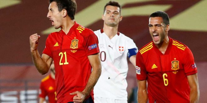 UEFA Nations League: Suiza – España