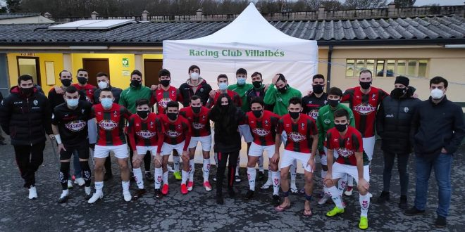 Tercera División (Grupo 1): Racing Club Villalbés – Polvorín