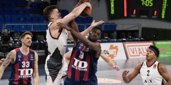Euroliga: Estrella Roja - Olimpia Milano / Panathinaikos - TD Systems Baskonia