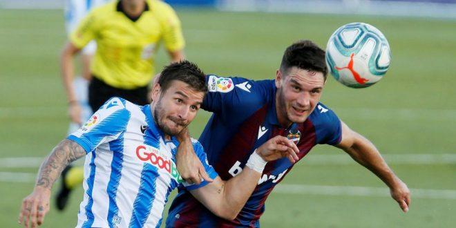 Liga Santander: Real Sociedad - Levante UD