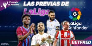 Las previas de La Liga Santander - Jornada 10