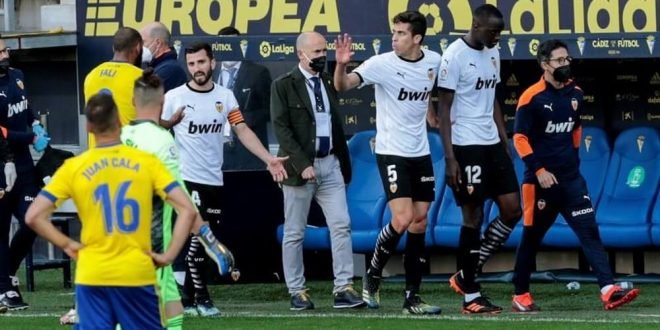 Liga Santander: Cádiz CF - Valencia CF
